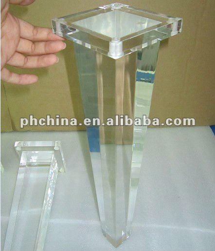 Rd 195 Lucite Bench LegAcrylic LegPlexiglass Sofa