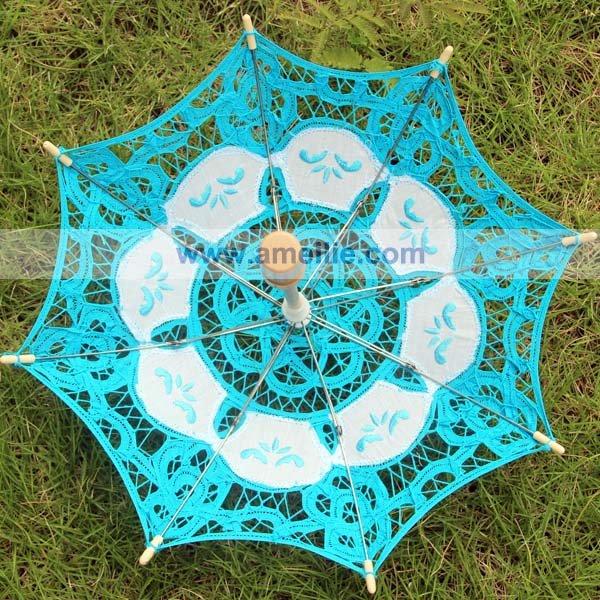 Ну вечеринку душа ребенка декоративные небольшой кружева зонтик Deocration кружева Parasols / 1 шт./лот