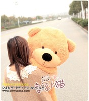 Детская плюшевая игрушка Pernycess 2012 new Teddy bears, 80CM high, 3 color, kids selling partner, factroy &retail