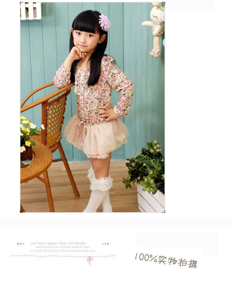 2013 new fashion princess girl flower chiffon tutu dress long sleeve children autumn dresses 5pcslot free shipping (6).jpg