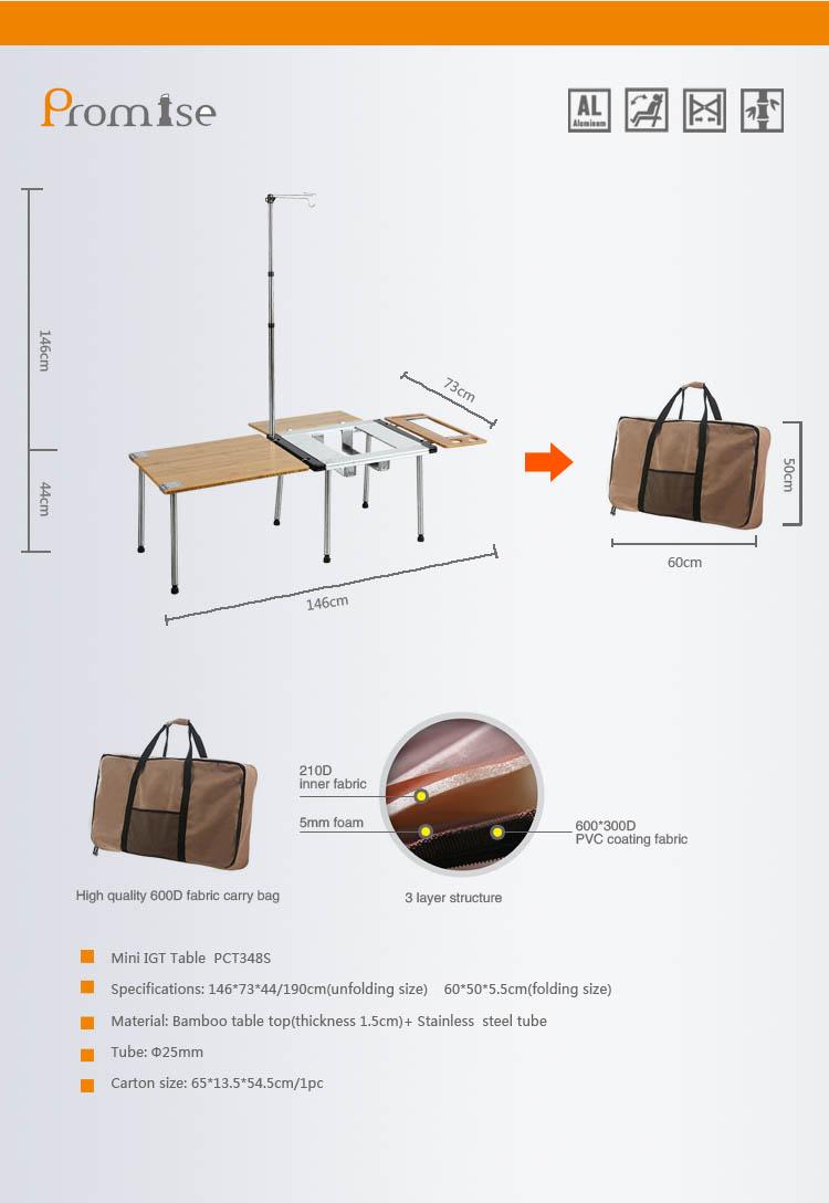 대나무 tabledining 테이블 runneraluminum 접이식 테이블-접는 테이블 ...