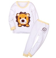 Пижамы и Халаты для мальчиков HOT 2013 Baby Boys Girls Clothing Set kids Pajamas Suits Cartoon Design Underwears Fit 1-4yrs 4set/lot More Colour 7218