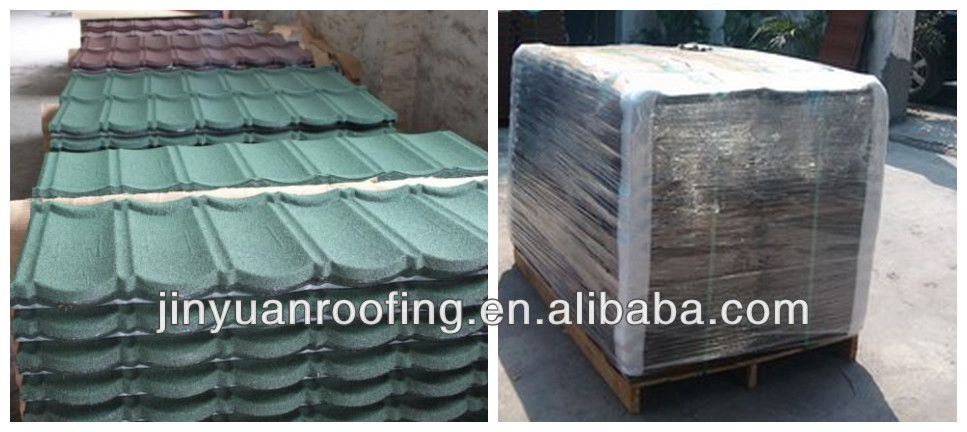 sand coated metal roofing material new launched products of Guangzhou