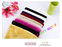 Салфетка для уборки 50pcs/lot 100% natural wooden universal fiber dishcloth Oil-Free kitchen dish towel 27*23cm