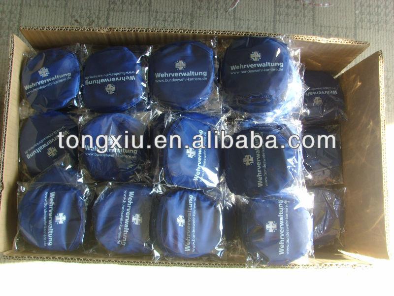 2013 190t nylon frisbee pieghevole con custodia( direttamente fabbrica)