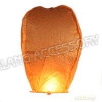 Воздушный шар 30pcs/lot Orange Square Outdoor Kongming Sky Lanterns Chinese Traditional Flying Lanterns 90*45cm Fit Festival Decoration 620013