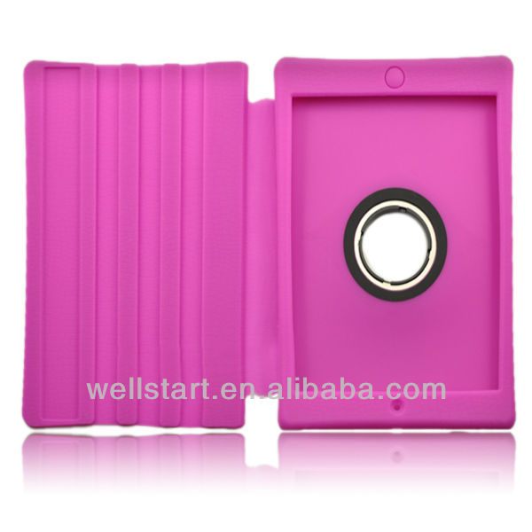2013 new design silicon ROHS for ipad mini case