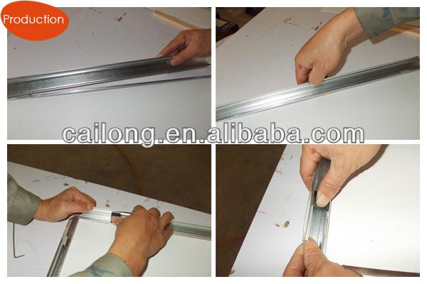 A0,A1,A2,A3 size Aluminium LED snap frame light boxes