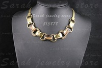 Min.order is$15(mix order)Free shipping,vintage collar choker statement Crystal necklace