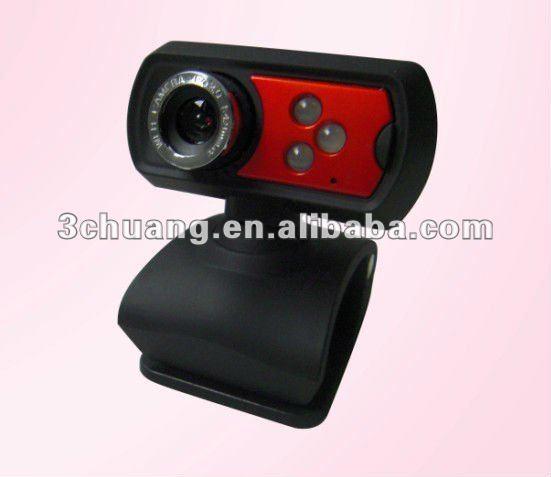 Usb webcam light