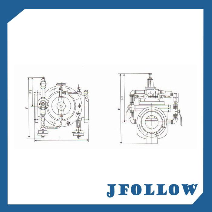 Water Flow Control Valve modulating control valve