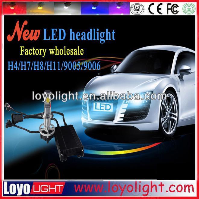 30W 3600 Lumen H4 H7 led car headlight kit,car led light