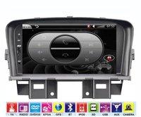 Автомобильный DVD плеер New arriving! 2DIN Chevrolet Cruze Special car Video audio GPS/ Bluetooth/IPOD/Amplifier.GPS map! Support Russian language