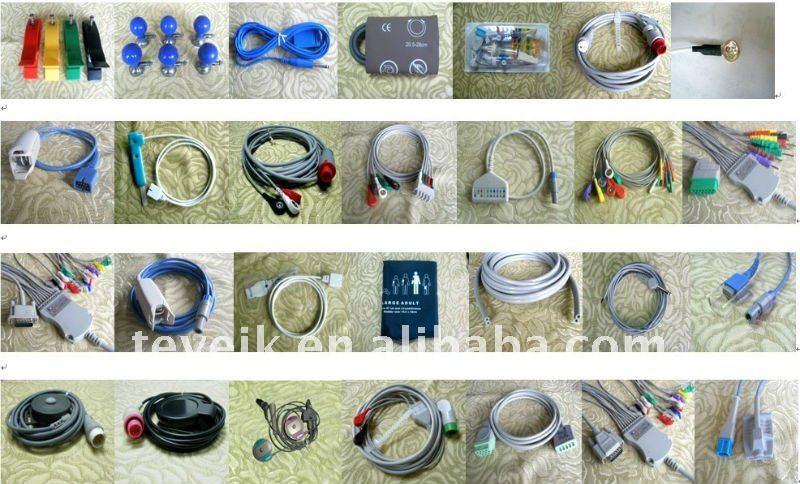GE Blood Pressure extension tube, double hose,10ft, OEM 2017008-003 2017008-004