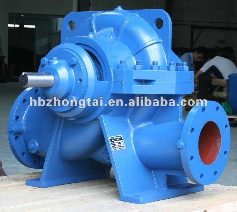 Low Cost Large Capacity Water Pump Double Suction