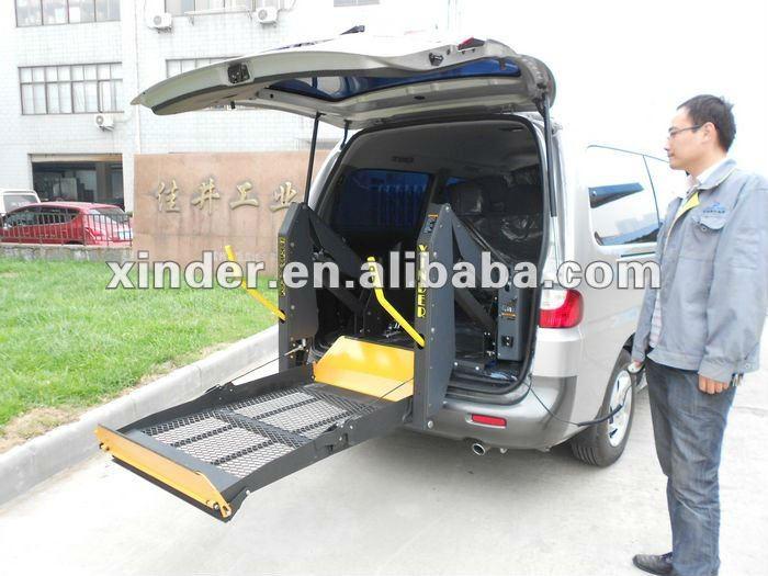 WL-D-880U Hydraulic Dual Arm Wheelchair Lift for Van and Minibus