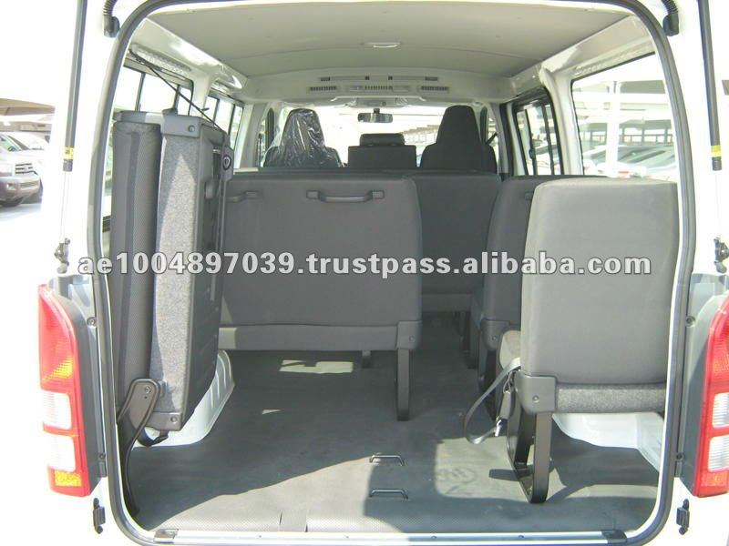 Brand New Car Toyota Hiace 2.7L Petrol 15 Seater Commuter Van