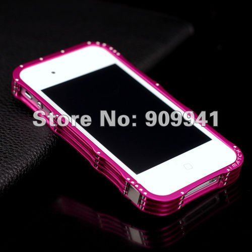 iMatch Screwless Aluminum Bumper case for iPhone 4 4s (9)