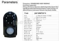 SG quad диапазона gsm mms беспроводной будильник/Главная охранной сигнализации, запись видео и ночь фотографирование см-07