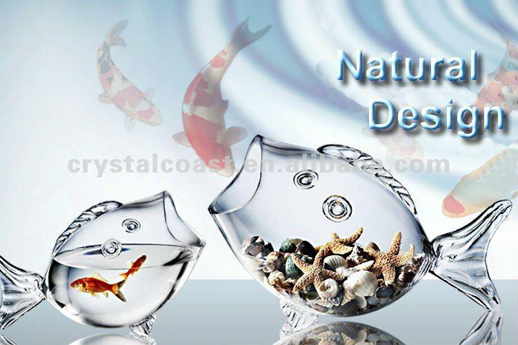 Clear Glass Fish Vase Choice Image Decorative Floor Vases