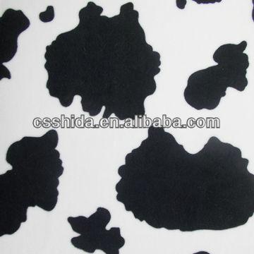 sofa cow fabric