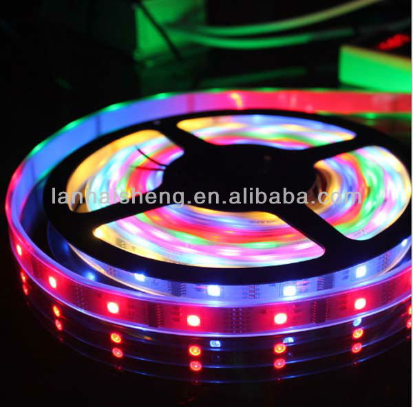 2013 ws2812b strip 5050 60 led tape 5m/roll 5V 14.4w/m CE arrroved