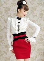 Женская юбка s/xl Flouncing moq 1 #w6518