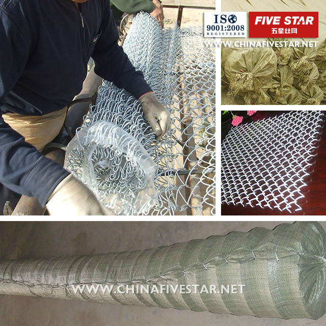 High quality electro chain link fence suppliers/9 gauge chain link fence(ISO9001:2008 professional factory)