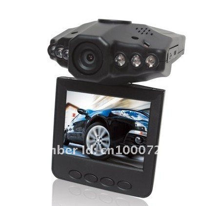 Free shipping 2.5 inch car mobile dvr with 270 degrees H198
