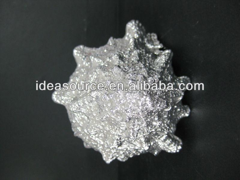 silver resin sea shell