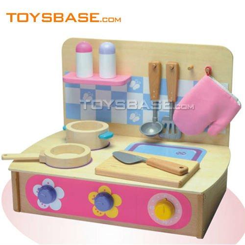 Los ni os de juguetes de madera juegos de cocina vajilla - Cocinas de madera ninos ...