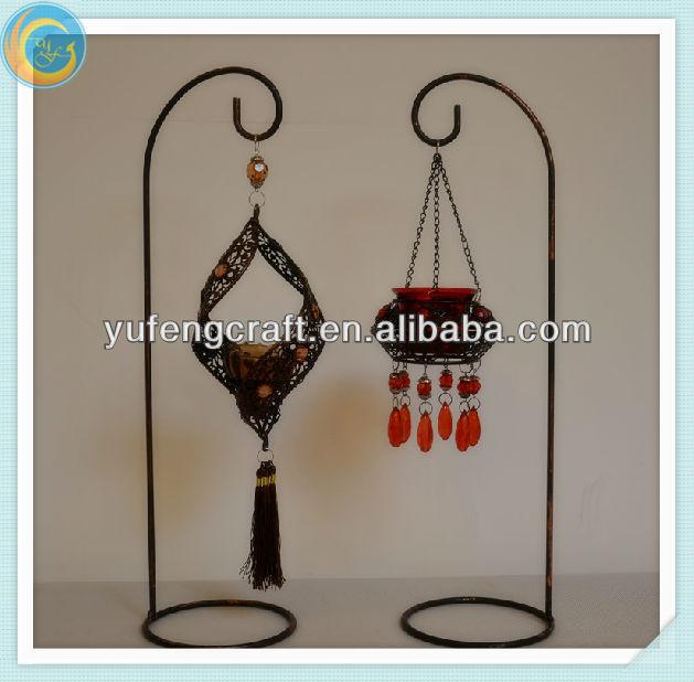 Ornamentales hierro candelabro/candelabros soportes para velas ...