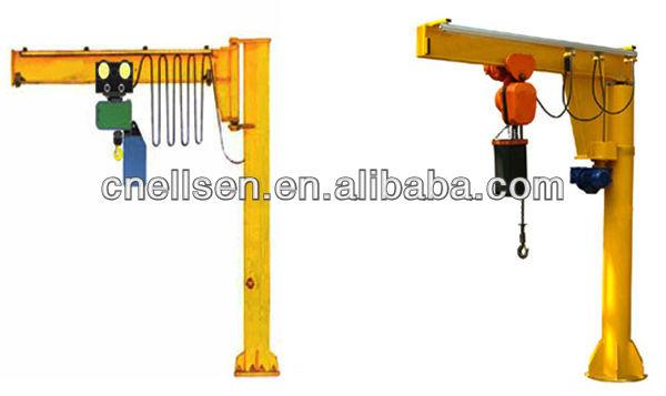 Jib Pole Crane : Best design indoor industrial electric hoist ton jib crane view ellsen