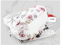 Маленькая сумочка New Women's Faux Leather Tote Bag Printing Handbag Hobo Bag Shoulder Handbag