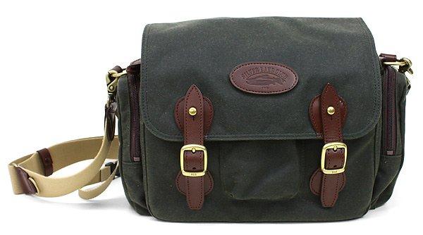 Waxed Cotton Shoulder Bag 109