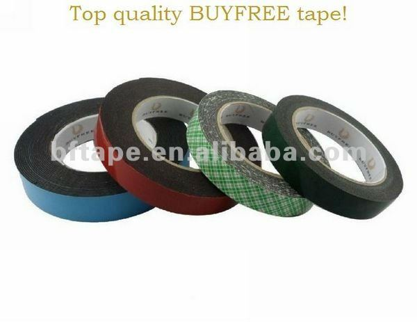PE foam water proof rubber insulation foam tape