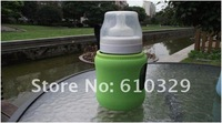 free shipping wholesales 10pcs v-COOOL baby Milk feeding Bottle cooler bag cap covering Insulation Portable prevent the fall