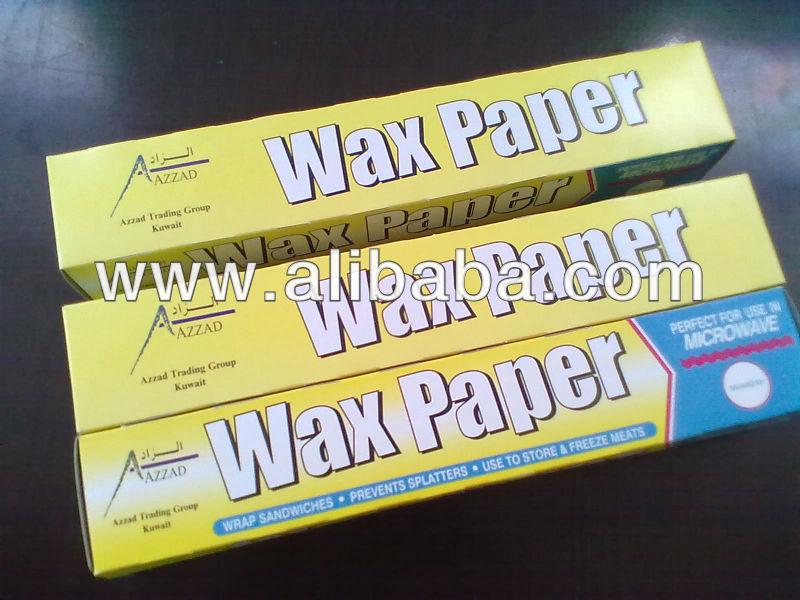 Food Packaging Wax Paper Buy Food Packaging Wax Paper