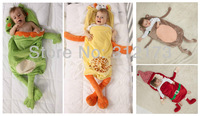 Пижамы и Халаты для мальчиков Infant Blanket Sleepers Toddler Sleeping Bags Baby Cute Animal Model Sleepsacks Children Winter Warm Clothing 1pcs