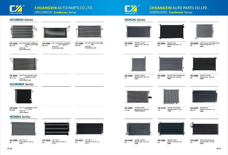 Auto Air Condenser,Mn151100,Aluminum Condenser,Flow Condenser - Buy Auto Air Condenser,A/c ...