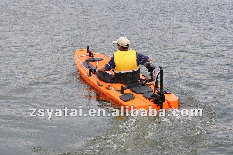 Plastic Single Fishing Kayak Winix Canoe With 40lbs