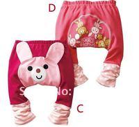 Брюки для девочек 2013 new fashion special children's wear leggings autumn baby cotton PP pants