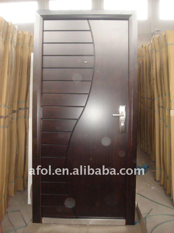 Afol latest style used metal security screen doors buy - Safety wooden door designs ...