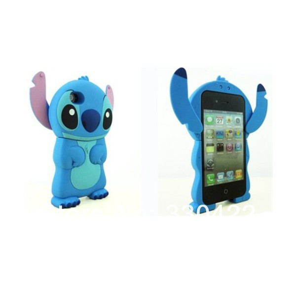 3D stitch silicon case for iPhone 4 4S cover(1).jpg