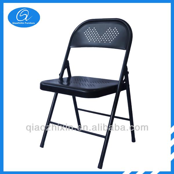 Pas cher chaise pliante en m tal chaises en m tal id de - Chaise metal pas cher ...