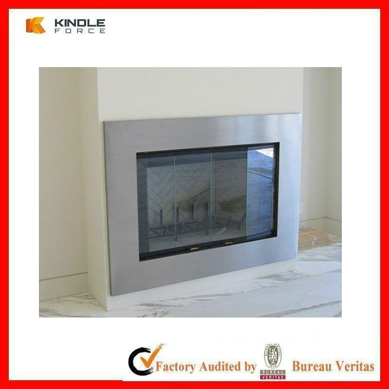 Burning Glass Fireplace Images