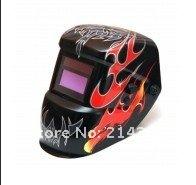 Сварочная маска NEW PP shell AAA battery+ Solar Auto Darkening/Shading Welding Helmet/Mask/goggles Cap for MMA TIG & Plasma cutter/welder
