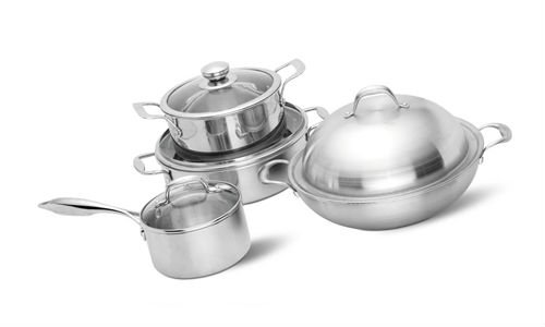 Tri-ply Nonstick Stainless Steel cookware