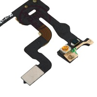 10pcs New Proximity Light Sensor Power Button Flex Cable Ribbon For iPhone 4S  Free / Drop Shipping