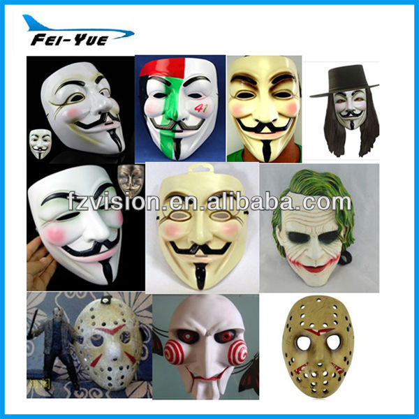 Custom Different Design Halloween Mask